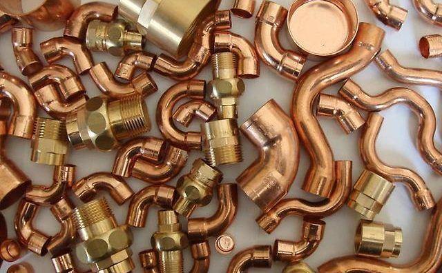 Трубы, фитинги на металл