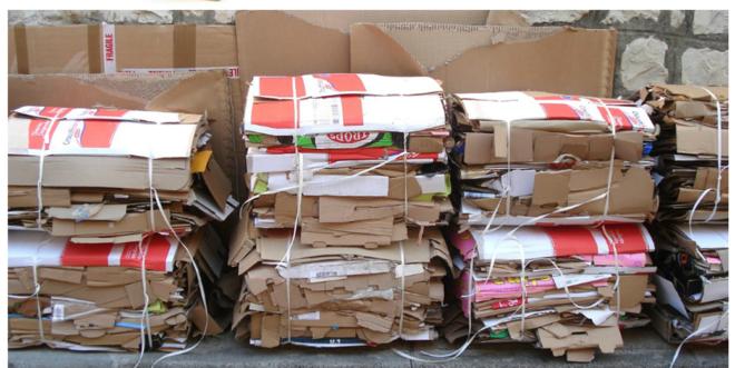 Вывоз бумажного мусора