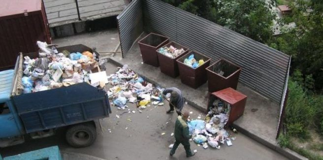 Вывоз мусора – как происходит