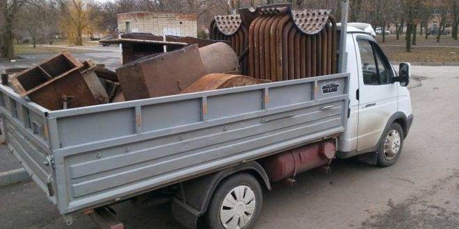 Заказ на вывоз металлолома