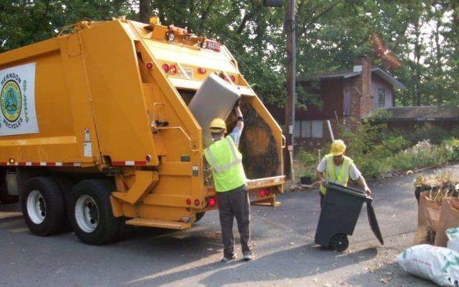 Организация вывоза мусора
