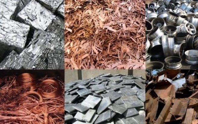 Прием лома черных и цветных металлов