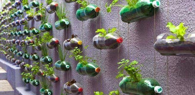 Использование пустых бутылок в быту