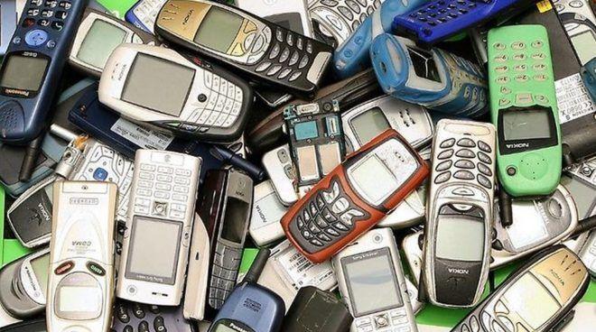 Переработка мобильников