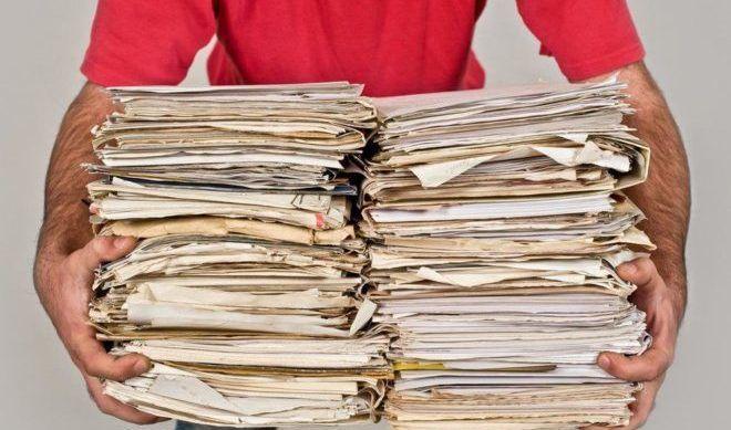 отходы производства бумаги из макулатуры