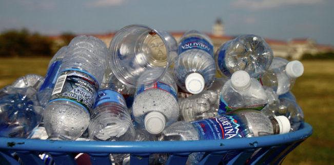 Сдаем пластиковые бутылки