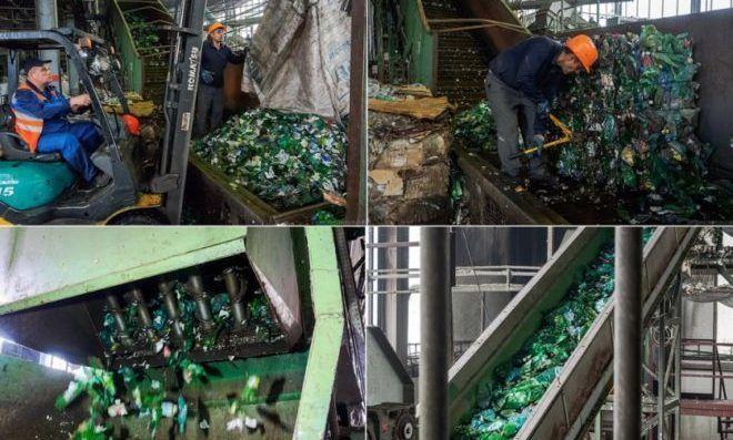 Способ переработки пластиковой бутылки