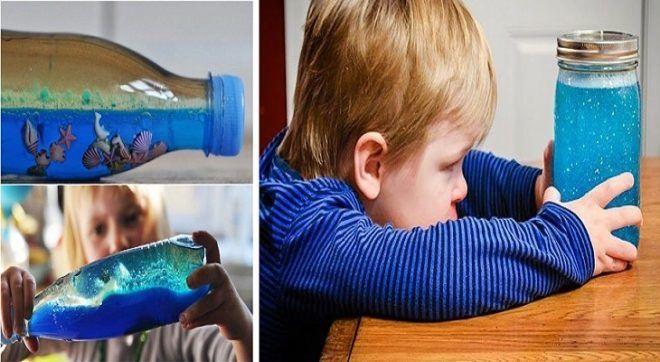 Украшение из бутылки