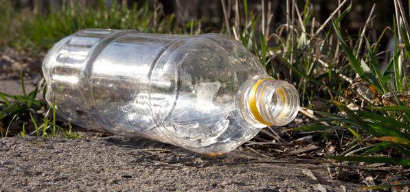 Выброшеная бутылка