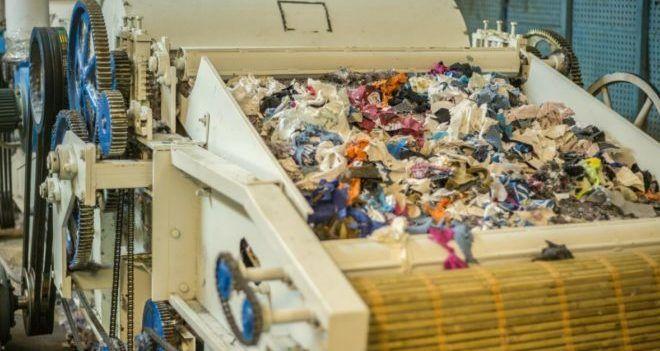 Машина по переработки одежды