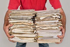Для сдачи картона и газет требуются знание санитарных норм