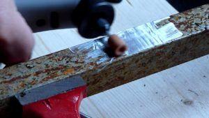 Очистить металл от коррозии перед сдачей