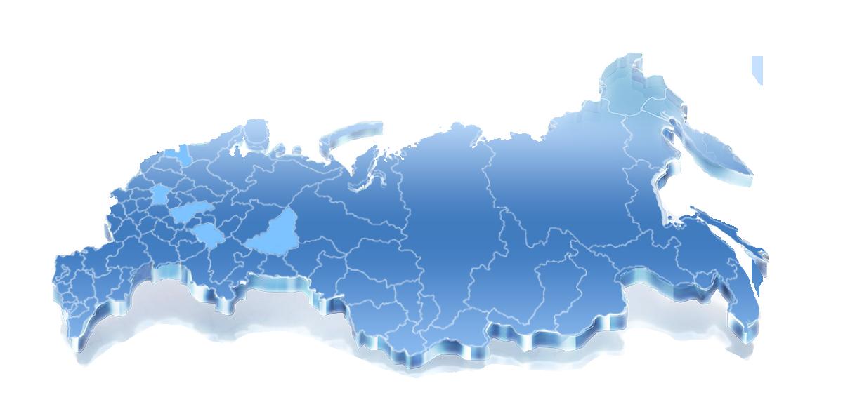 карта России вторичное сырье