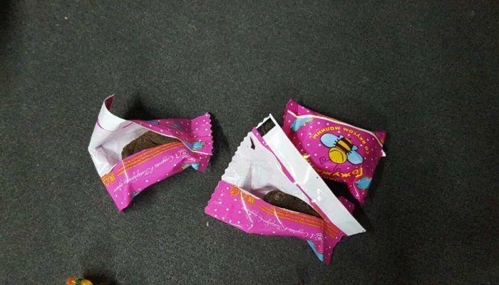 Фантики из-под конфет