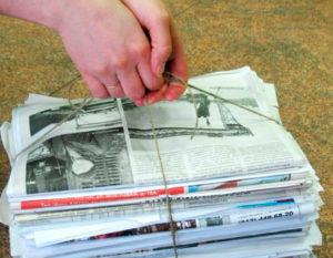 Газеты - самый низкий сорт макулатуры
