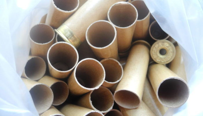 Отходы патронной бумаги