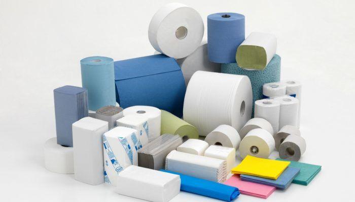 Туалетная бумага, салфетки и полотенца