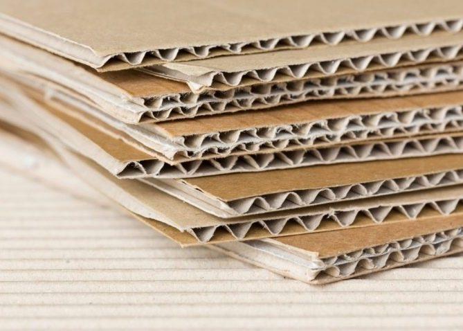 Гофрированный картон - сорт 5Б