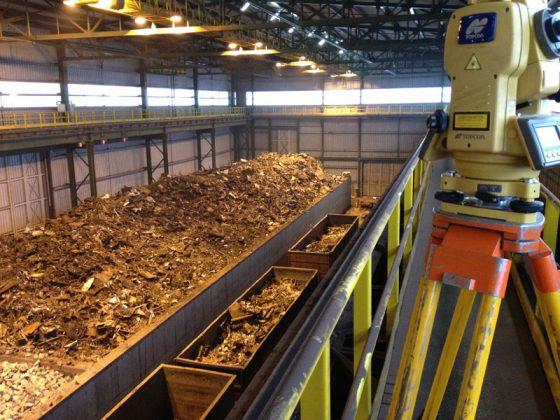 Хранение металлолома на складе