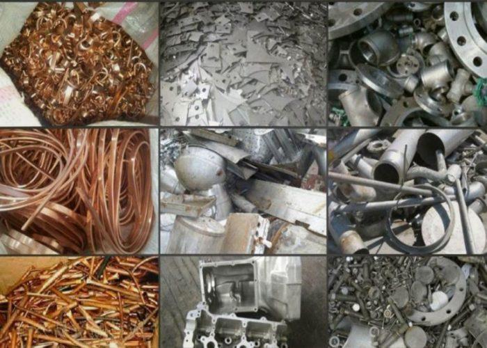 Отходы из металлолома