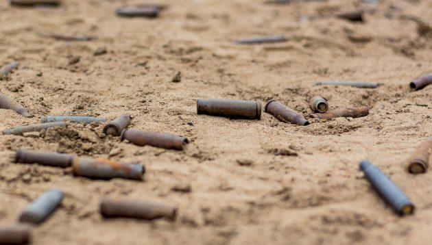 Поиск металла на заброшенных стрельбищных участках