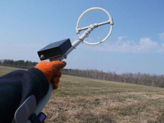 Поиск металлолом на заброшенных полях