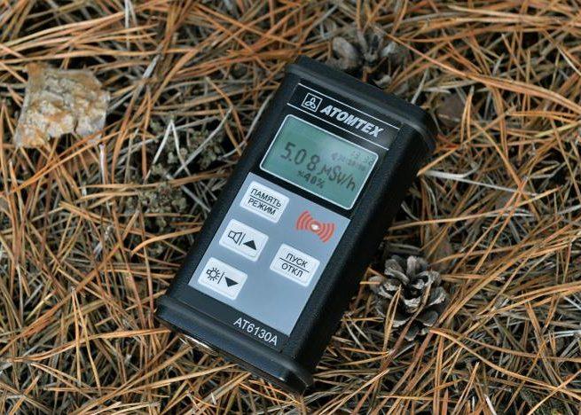 Проверка металла на радиационный уровень