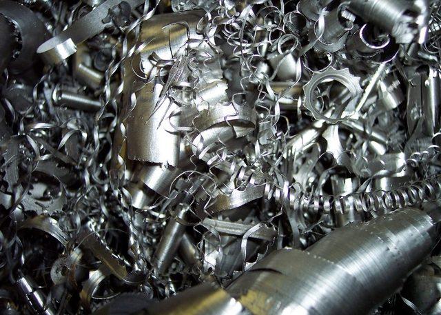 Стружка черных металлов