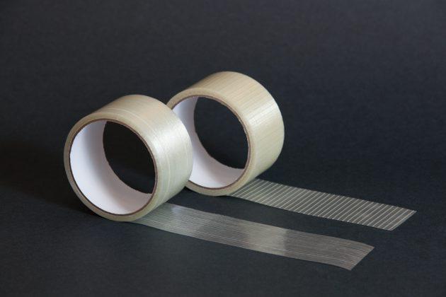 Клейкая лента усиленная стекловолокном